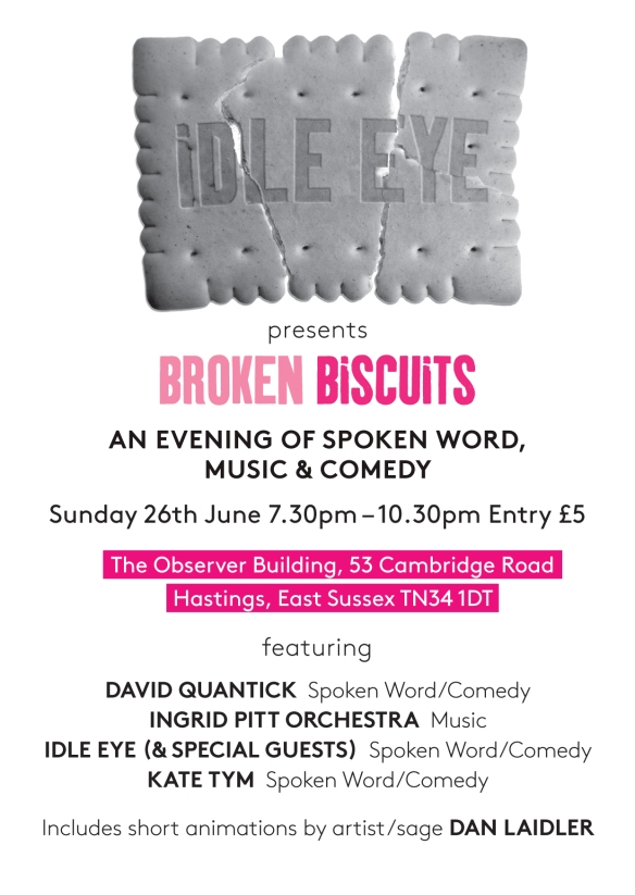 Broken Biscuits 2 - Flyer front